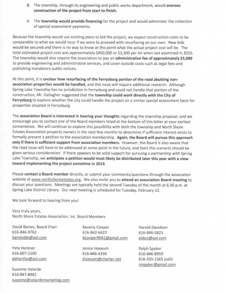 NSEA SL Twp Letter 2